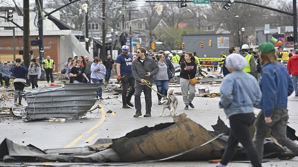 Nashville City After Tornado, Image Credit: Reuters HARRISON MCCLARY