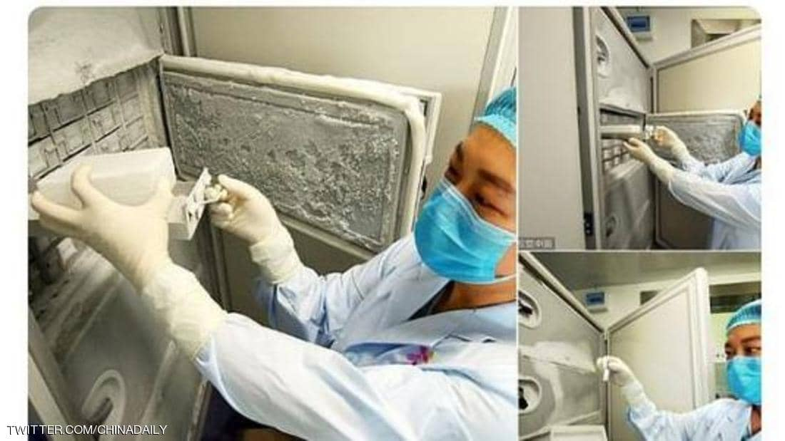 Pictures from Wuhan Virus Research Institute