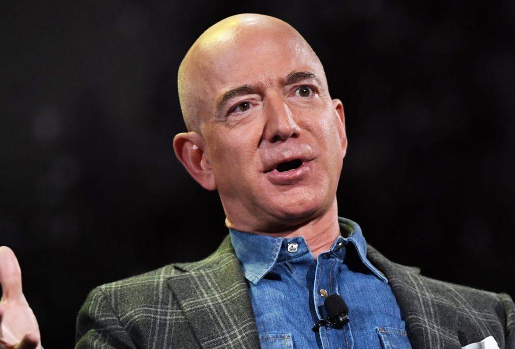 Jeff Bezos - Image Source - CNBC