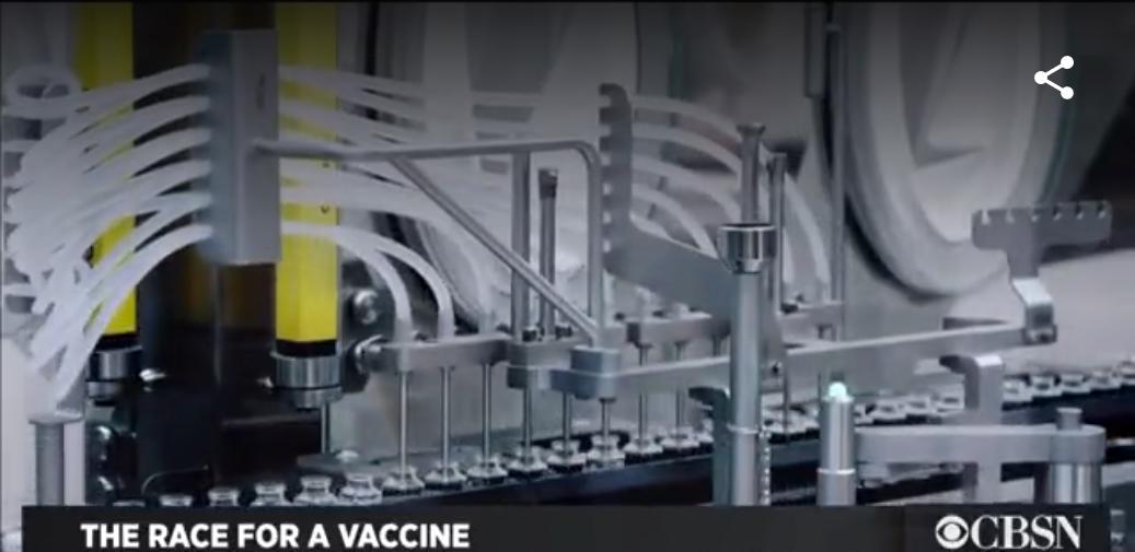 Moderna's Potential Coronavirus Vaccine - Image Source boston.cbslocal.com