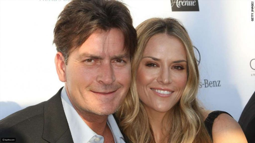 Charlie Sheen hit his wife several times
