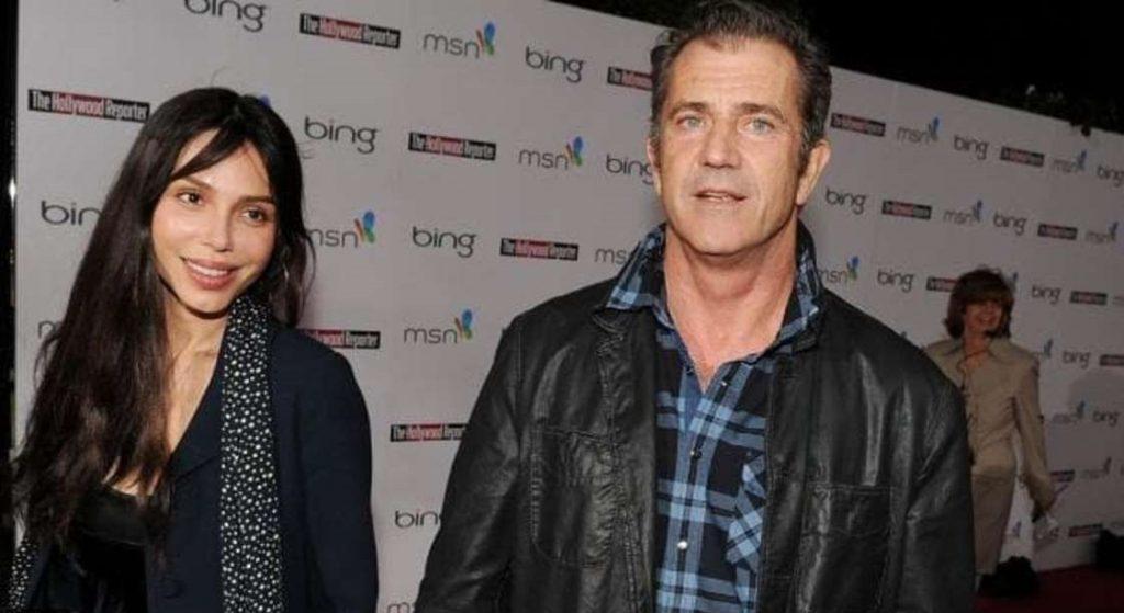 Mel Gibson admitted to beating his girlfriend, Oksana