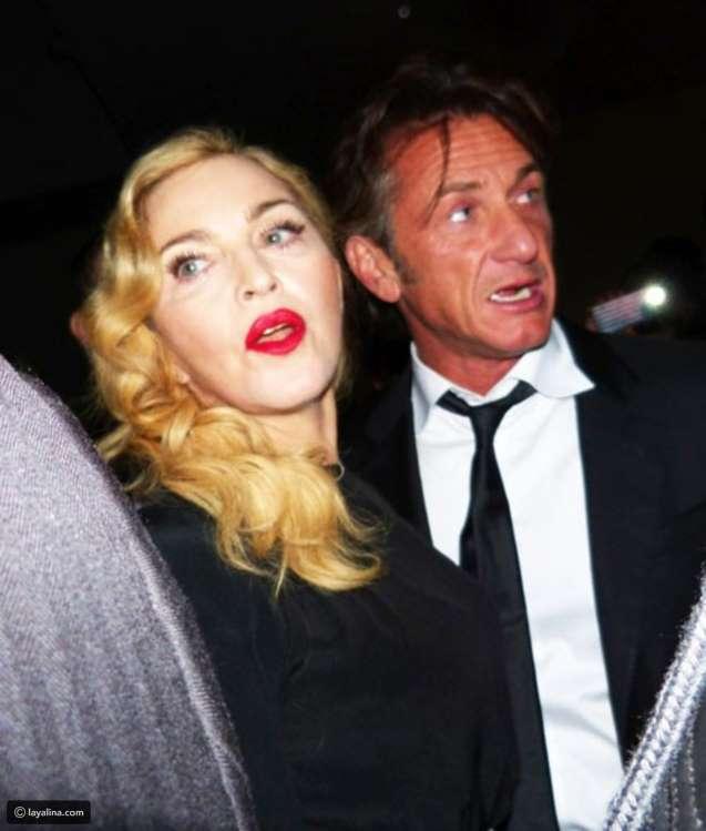 Sean Penn hit Madonna with a baseball bat