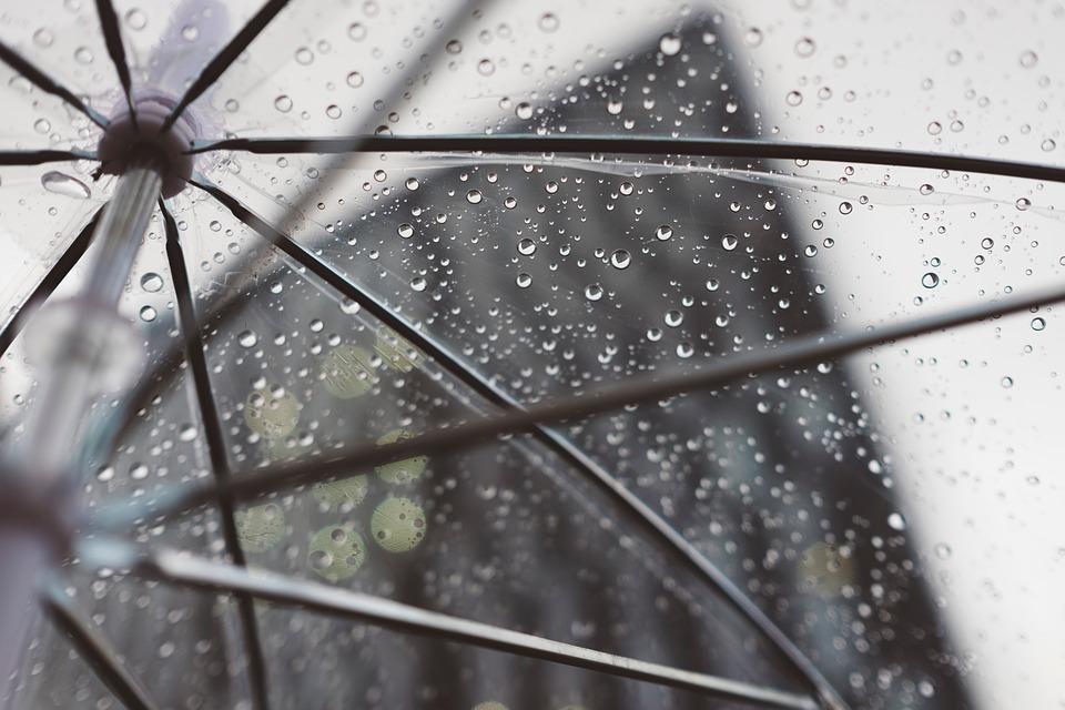Dry the Opening Umbrella