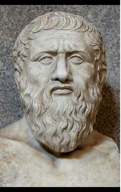 Statue of the Greek philosopher Plato